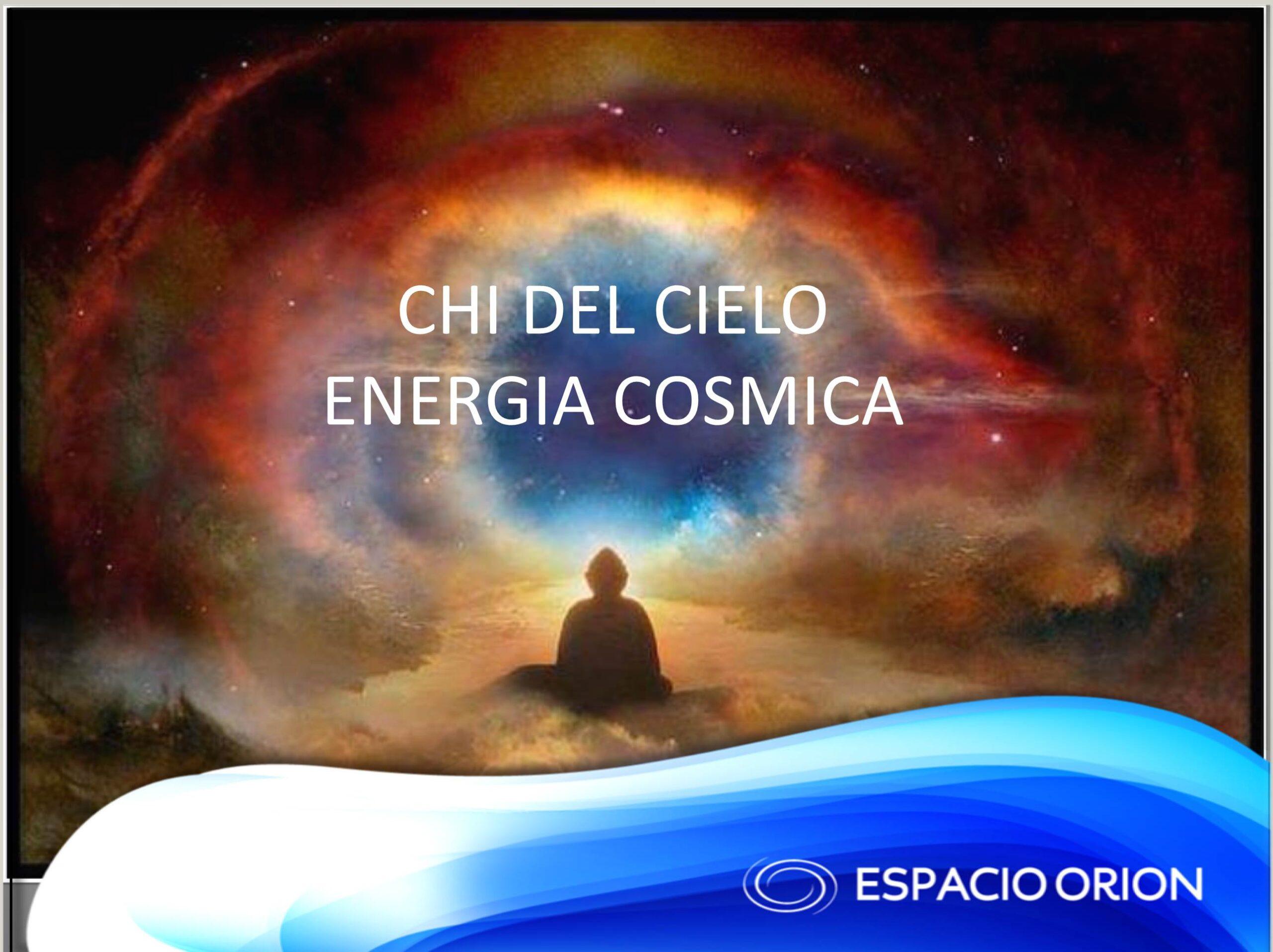El Chi es la fuerza vital, la energía que une todas las cosas, es el vasto campo de energía del universo. Esta energía da vida a los seres y se libera nuevamente en el cosmos cuando los seres desaparecen. La energía es dinámica, circula de manera invisible a través de los diferentes espacios. Los seres humanos somos afectados por el flujo de la energía del universo, cuando esta recorre nuestro ambiente.