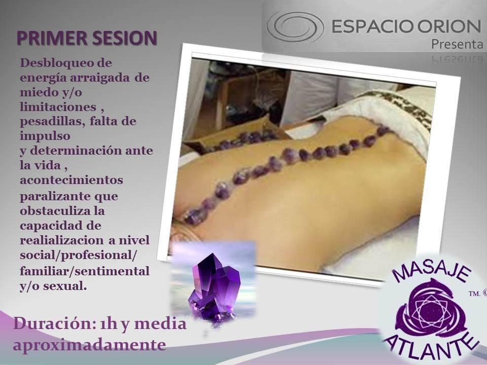 masaje atlante sesion 1